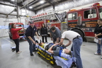 Physical Therapy Students at Shabbona Fire Dept 4-20-16
