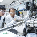 17-Zhili Xiao and student at Argonne National Lab-0718-DG-017