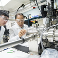 17-Zhili Xiao and student at Argonne National Lab-0718-DG-019