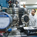 17-Zhili Xiao and student at Argonne National Lab-0718-DG-022
