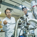 17-Zhili Xiao and student at Argonne National Lab-0718-DG-033