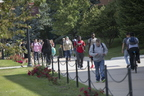 Students Studying and Walking on Campus 9-17