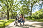 Students Around Campus Holly Jones and dog - 09-10-18