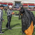 18-Golden Knights Delivering Gameball NIU Homecoming-1013-WD-005