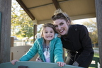 Admissions Newsletter - Amber Sayles with daughter Riley 10-29-18